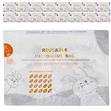 Jopwkuin Bolsas purificadoras de Aire Empaque Todos los artículos Que se Pueden Poner en el microondas para Viajar para el bebé para el hogar((White))