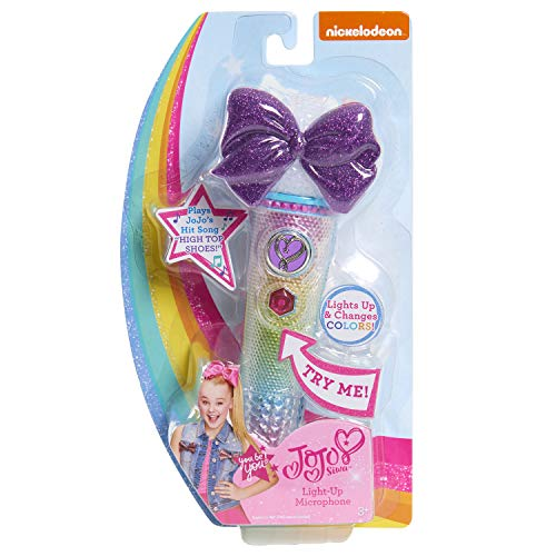 JoJo Siwa Light-Up Microphone - High Top Shoes