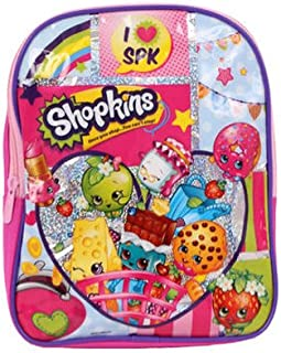 Shopkins Mini Backpack, Pink, 10
