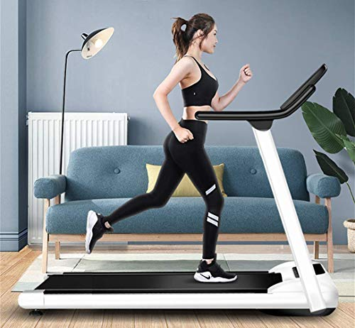BLRON Home Folding Electric Running Machine with LCD and Tablet Holder, Monitor Motorized Walking Running Machine Equipment for Home Gym