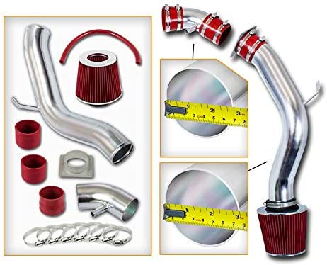 Rtunes Racing Cold Air Intake Max 67% OFF Kit Max 78% OFF Compatible Filter Combo + RED