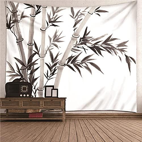 Aeici Tapiz Liso Pared, Tapices De Pared Antiguos Bambú Tapiz Pared para Colgar Pared(150X130Cm)