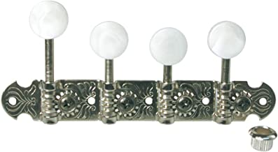 Golden Gate FM-2 F-model Mandolin Tuners - 2 planks (4+4) - Nickel