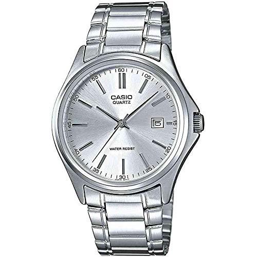 Casio Herren Analog Quarz mit Edelstahl Armbanduhr MTP1183PA7A