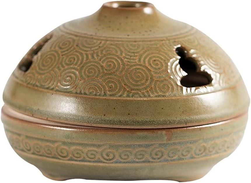 YUBIN Ceramic Incense Burner Ceramic Tray Incense Burner Antique