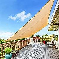 Yufol Sun Shade Sail 8' x 10' Rectangle UV Block Canopy