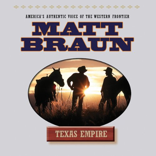 Texas Empire audiobook cover art