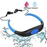 Waterproof MP3 Player,IPX8 Waterproof Headphones for...