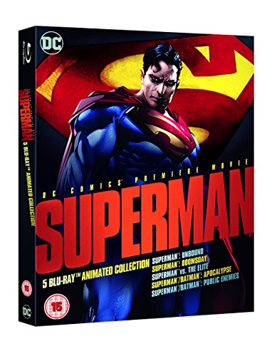 Superman: Animated Collection [Blu-ray] [2016] UK-Import, Sprache-Englisch