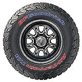 Tire Stickers Pegatinas para Llantas – Oficial BFGoodrich Letras para neumáticos KO2 – Accesorio para neumático – Signature Color Edition – (1 neumático)