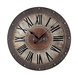 Sterling Industries 128-1005 Metal Roman Numeral Outdoor Wall Clock. - Best Price Most Popular New Brand Great Reviews Low Priced Big Savings Gift Present Men Women Kids Trendi