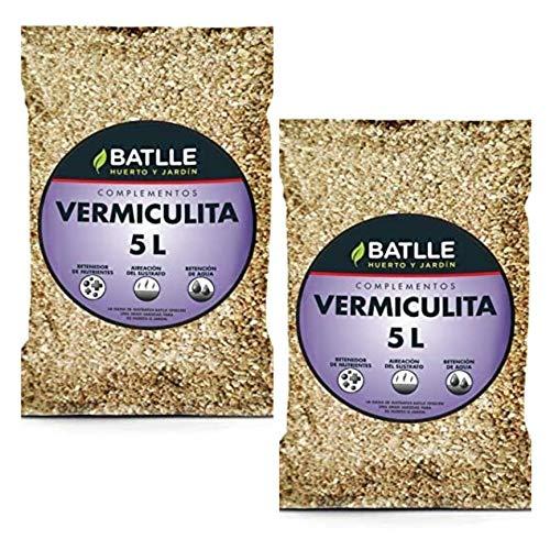 Batlle 10L Semillas 960096BUNID - Substrat Vermiculite 2X 5l