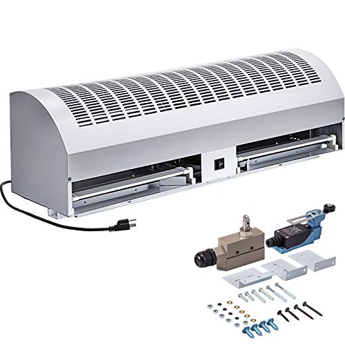 """VBENLEM Air Curtain 36"""", 2 Speeds Commercial Indoor Air Curtain, UL Certified, CE Certified, 1500 CFM Air Volume with 2 Easy-Install Micro Switch(Limit Switch),110V Unheated"""