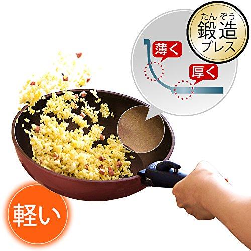 IRISOHYAMA(アイリスオーヤマ)『KITCHENCHEFダイヤモンドコートパン6点セット(H-GS-SE6)』