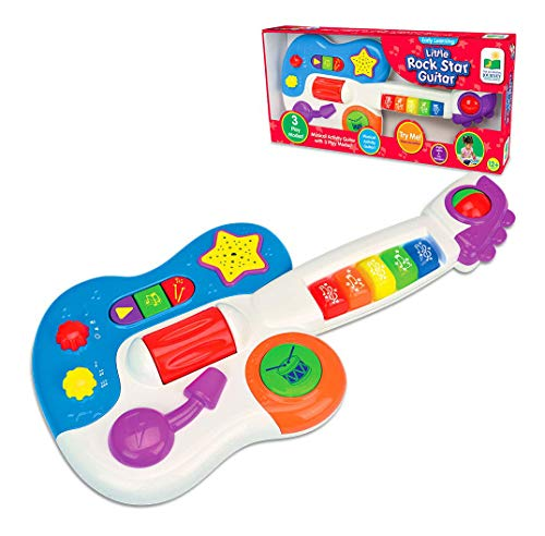 The Learning Journey Early Learning - Little Rock Star Guitar - Baby & Toddler Toys & Gifts for Boys & Girls Ages 12 months and Up - Award Winning Toy, Multi (157749)