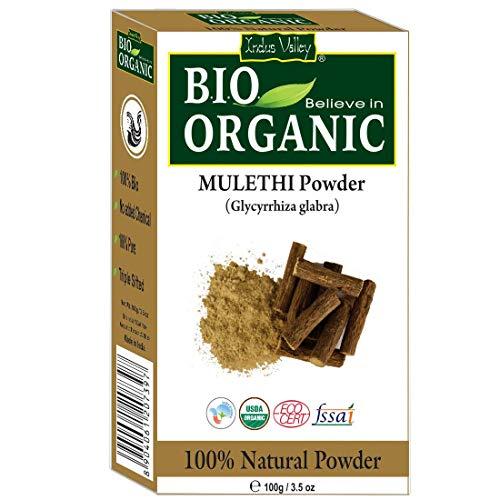 Indus Valley Bio Organic Mulethi (Lakritz) Pulver