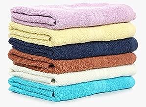 Bombay Dyeing Cotton 40x60 Cms Hand Towel Set - Blue Ivory (Set of 4)