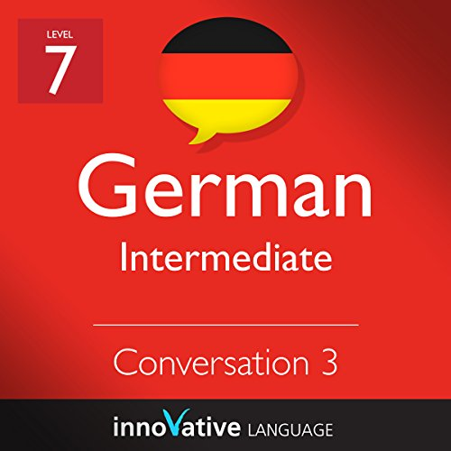 Intermediate Conversation #3, Volume 2 (German) audiobook cover art