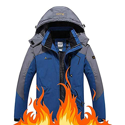 TOPYL dames berg-waterdichte ski-jas warmer fleece katoen winterjas snowboard windbreaker capuchon regenjas