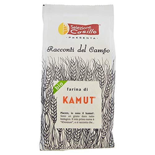 Selezione Casillo Farina di Grano Kamut - 5 pezzi da 500 g [2500 g]