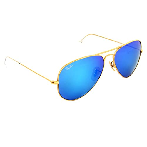 1db7d33e16c Ray Ban - RB3025 112 17 Aviator Blue Flash Lenses
