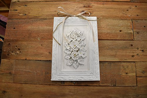 quadro in porcellana in stile shabby chic