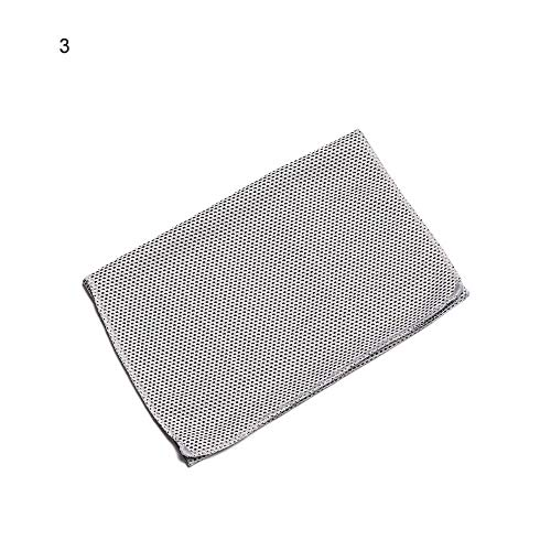 YCHZX 4pc 30x80cm Microfiber Portable Quick-Drying Cooling Ice Sports Towel Travel Jogger Cloth Camping Swimming Gym Washcloth-3