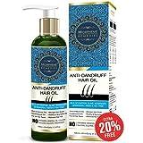 Morpheme Remedies Anti Dandruff Hair Oil (With Olive, Bhringraj, Castor, Neem, Tea Tree Oils) - 120ml