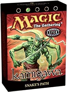 Magic the Gathering Champions of Kamigawa Snake's Path Theme Deck Sealed