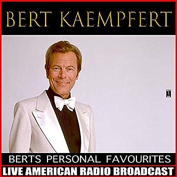 Bert's Personal Favourites