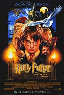 Pop Culture Graphics Harry Potter and The Sorcerer's Stone (2001) - 11 x 17 - Style A