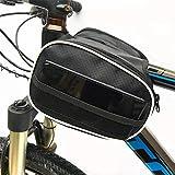 FSD-MJ VTT Avant équipement balle Avant faisceau vélo Montagne Long Avant pare-Chocs étanche Pochette supérieure Support de téléphone Portable Haute sensibilité Tactile Support de téléphone