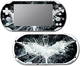 Batman Begins Dark Knight Rises Arkham City Video Game Vinyl Decal Skin Sticker Cover for Sony Playstation Vita Slim 2000 Series System