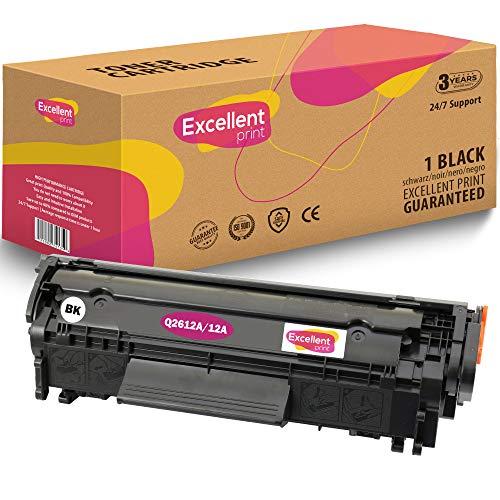 Excellent Print Q2612A 12A Kompatibel Tonerkartusche für HP Laserjet 1012 1015 1020 3030