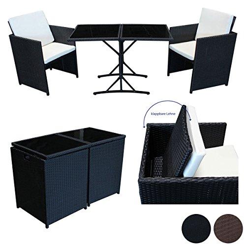 Salita comedor de ratán sintético, grupo de asientos, material ratán sintético, con fundas para sofá, mobiliario de jardín, color a elegir
