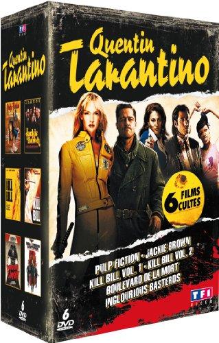 Quentin Tarantino - Coffret 6 films - Pulp Fiction - Jackie Brown - Kill Bill - Vol. 1 - Kill Bill - Vol. 2 - Boulevard de la mort - Inglorious basterds