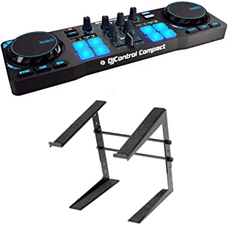 Hercules DJControl Compact USB Controller with Stand
