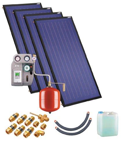 Solaranlage ohne Speicher ZSH-4 quattroSol Plus