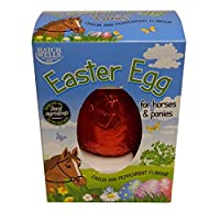 Tasty carob and peppermint flavour Easter egg for your horse or pony to enjoy Free from cocoa, wheat and gluten Made from carob; the horse friendly alternative to chocolate Barcode: 5024703001848 Style: EACH