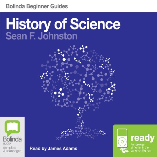 History of Science: Bolinda Beginner Guides audiobook cover art