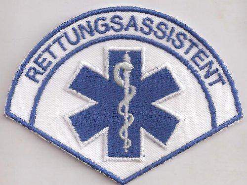 Patch Rettungsassistent Rescue Medical RTH Emergency Rotes Kreutz Aufnäher