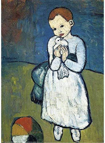 Puzzle Michèle Wilson - Puzzle l'enfant à la Colombe de Picasso ( PT-W165-24 )