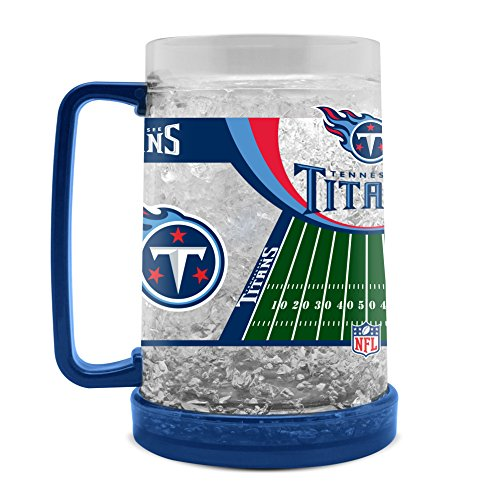 NFL Tennessee Titans 16oz Crystal Freezer Mug