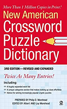 New American Crossword Puzzle Dictionary  3rd Edition--Revised and Expanded