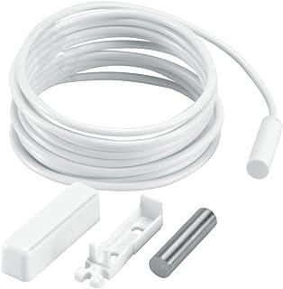 ABUS 2040038 Draad-NC-openingsmelder FU7350W wit magnetisch contact ramen en deuren