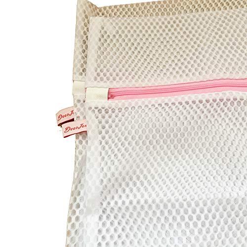 Homefairy Sacs pour linge délicat avec fermeture éclair, sans danger pour la machine à laver et le sèche-linge – Micro maille de haute qualité Sac pour soutien-gorge, lingerie, chemisier, chaussettes, sous
