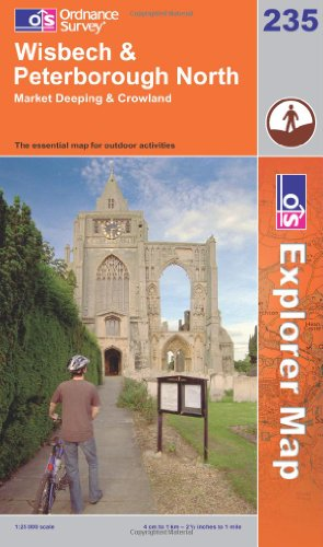 OS Explorer map 235 : Wisbech & Peterborough North