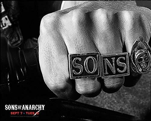 1000 piezas de rompecabezas para adultos - Impresiones de anillos de Sons of Anarchy Puzzle para adultos, familia, juegos educativos, desafío cerebral
