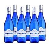 Vino blanco Maestrante de 75 cl - D.O. Tierra de Cadiz - Bodegas Barbadillo (Pack de 6 botellas)