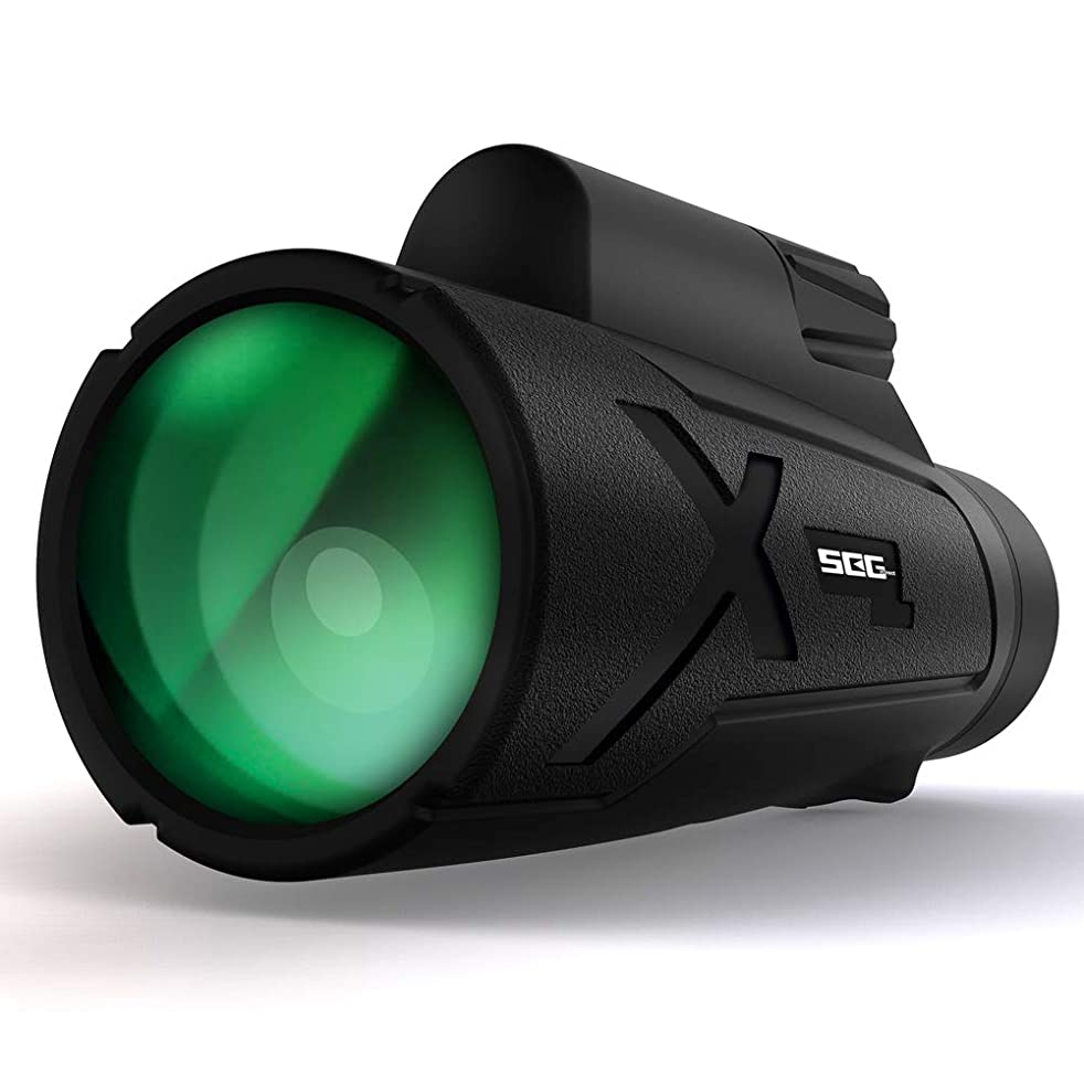SEGDirect 12x50 High Power Compact Monocular Telescope with BAK-4 Prism Multi-Coated HD Lens| IP67 Waterproof, Dustproof | Wide, Sharp Range of View | Ideal for Outdoor Activities, Wildlife Watching